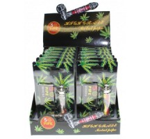 Metal Pipe Jamaica Rasta Box of 12
