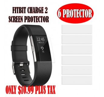 Fitbit Charge 2 Screen Protector [6-PACK]