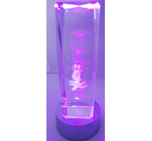 3D Laser Crystal Fairy