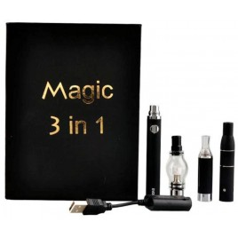 Magic 3 in 1 Dry Herb Vaporizer Pen Kit