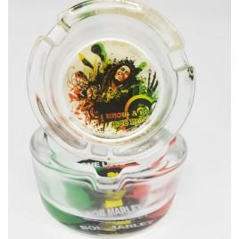 The Bob Marley Glass Ashtray