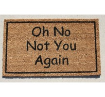 NOT YOU AGAIN DOORMAT