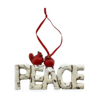 CARDINAL ORNAMENT PEACE