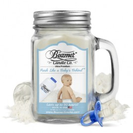 Beamer Fresh Like A Baby's Behind 12oz Scented Candle