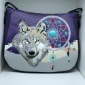 Lone Wolf & Dreamcatcher Hip Bag