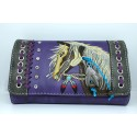 Embroidered Horse Wallet