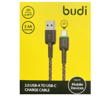 Budi TYPE-C Braided Cable (2M)