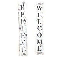 WELCOME BELIEVE PLAQUES