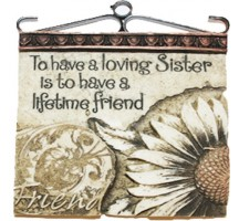Written in stone to have a loving sister