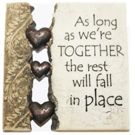 Written in stone As long as we are together