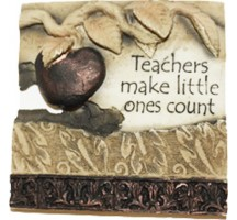 Written in stone Teachers make little