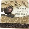 Written in stone Teachers make little