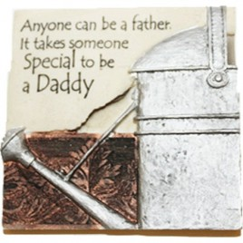 Written in stone Anyone can be a father