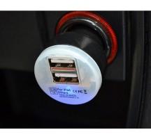 Dual Port USB Car Charger-Black